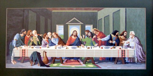The Last Supper -paint by number=Jackie LaPierre-resize